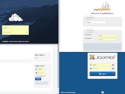 Ubuntu Server 16.04 with Joomla, Owncloud