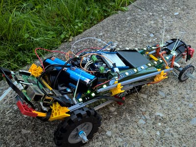 Voice Controlled K'nex Car