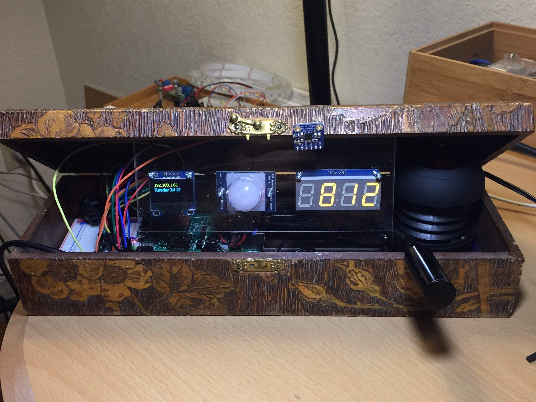 Alexa Voice Alarm Clock