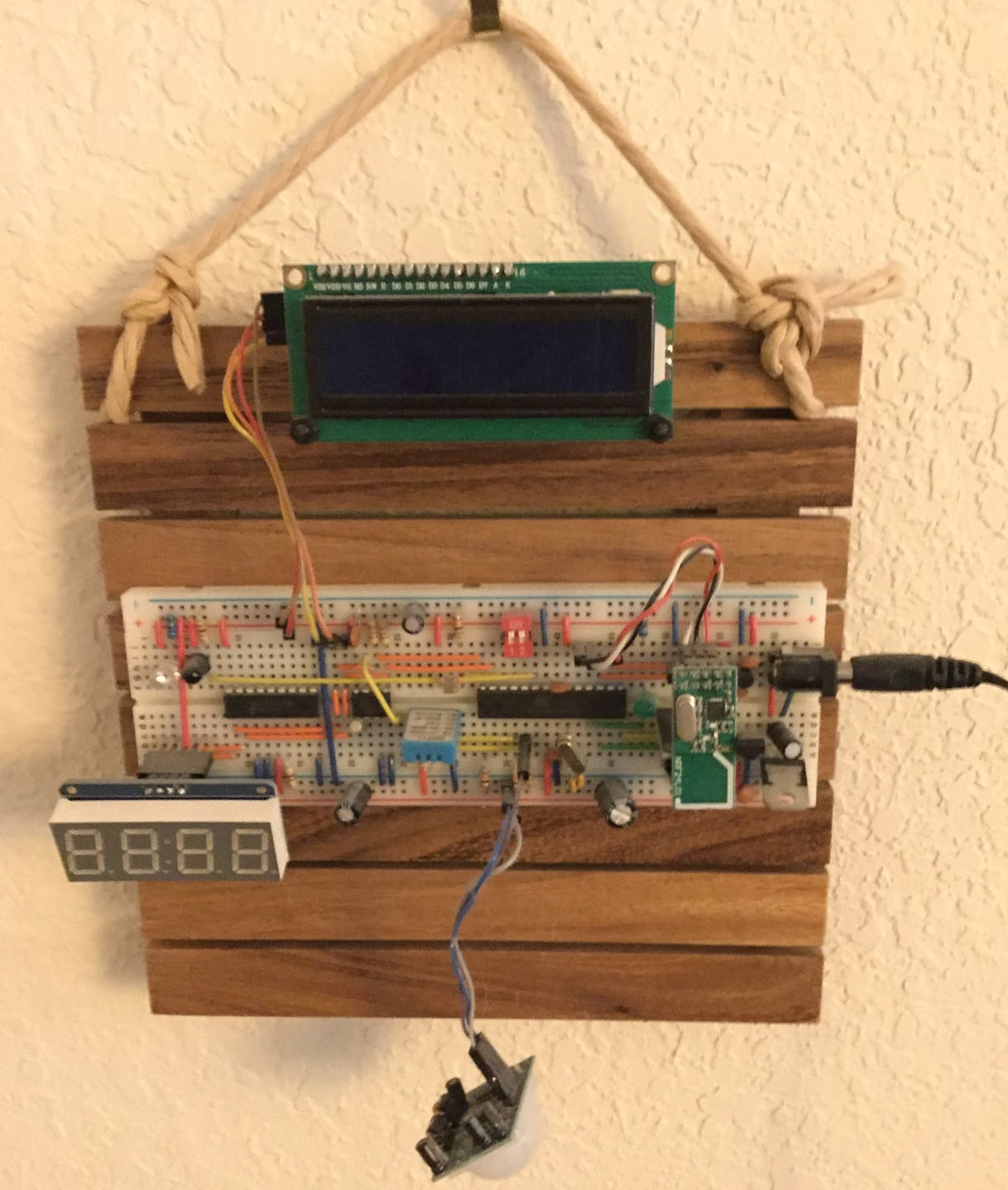 ATMega328 Alarm Clock with NRF radios