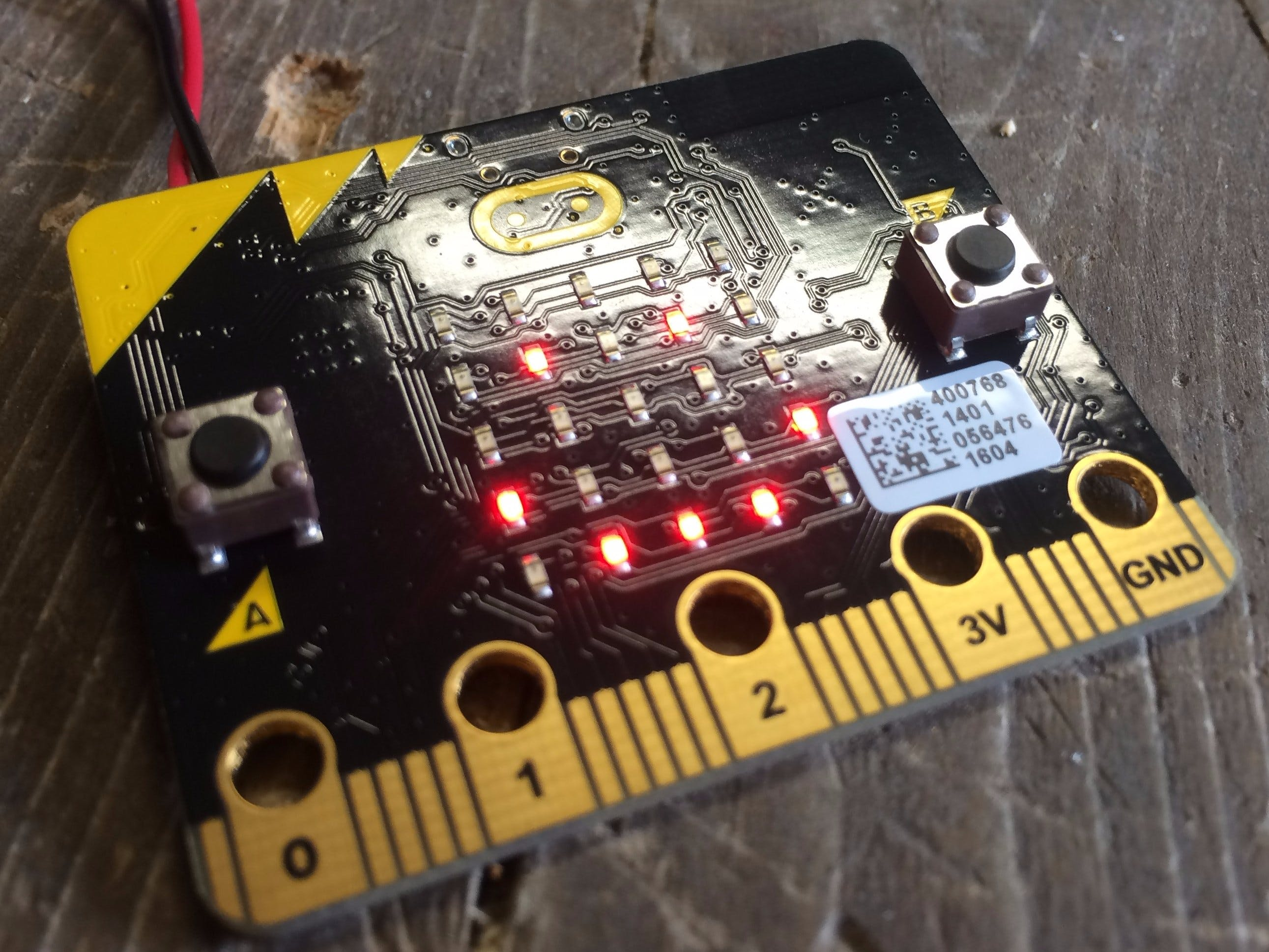 Blinking The Micro:bit Using JavaScript