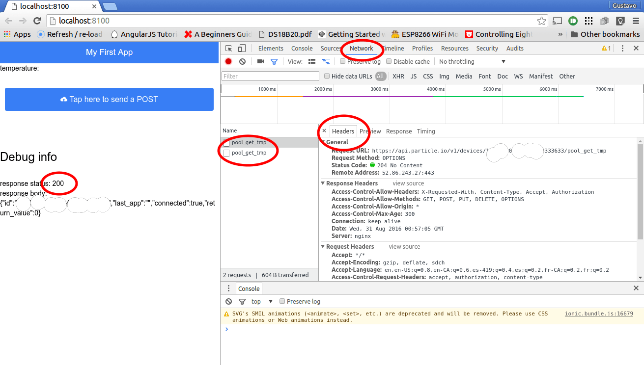 Google Chrome Developer tools to the rescue