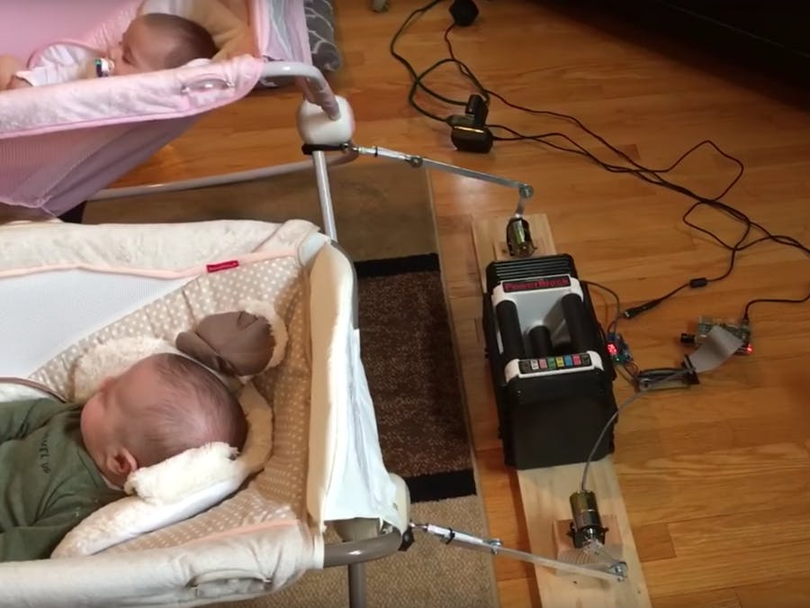 Voice Activated Baby Rocker Using Alexa And A Raspberry Pi