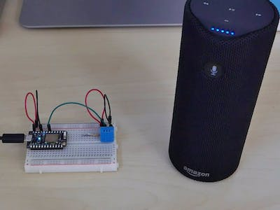 Particle Weather Station ft. Amazon Alexa