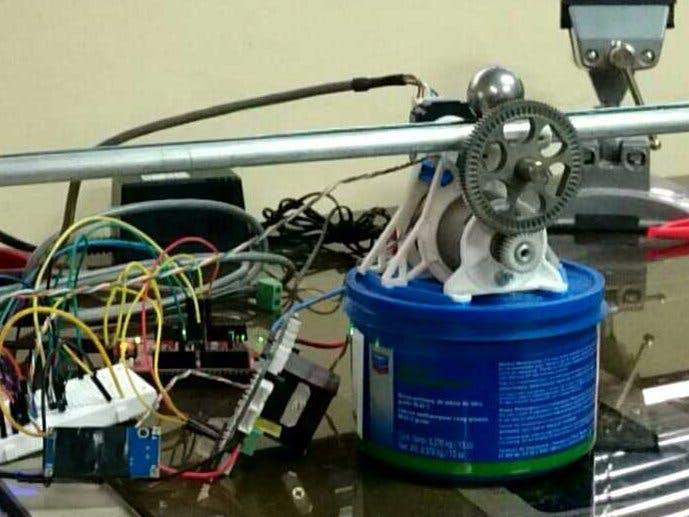 Robotic Ball and Beam Part 1: Sensors and Hardware