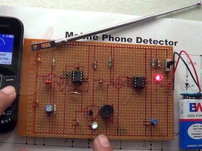 Basic Cell Phone Detector