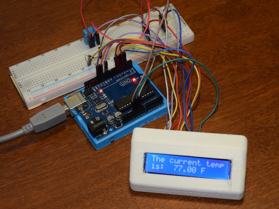 Arduino LCD Thermostat
