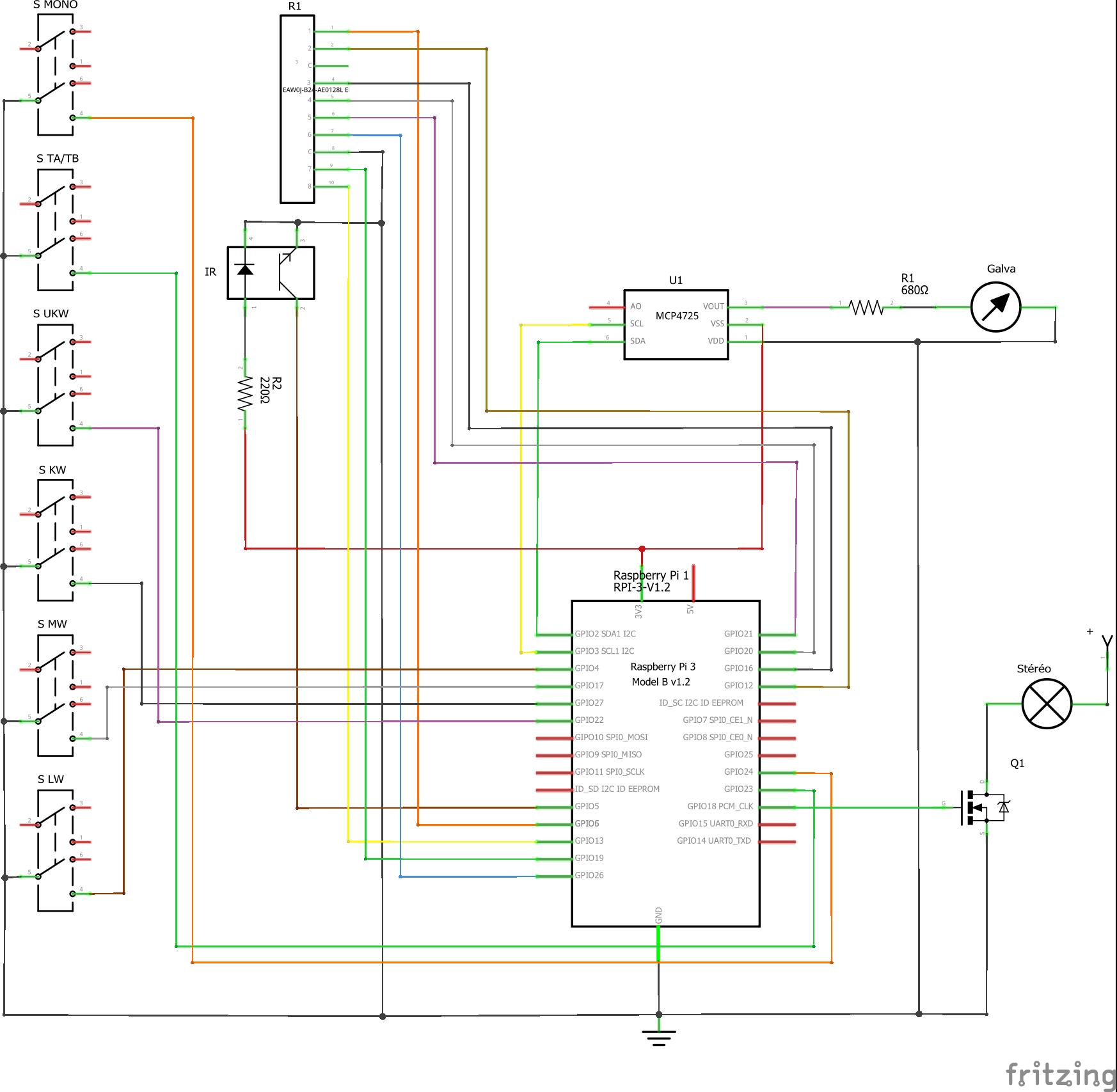Rtv500pi  schematic