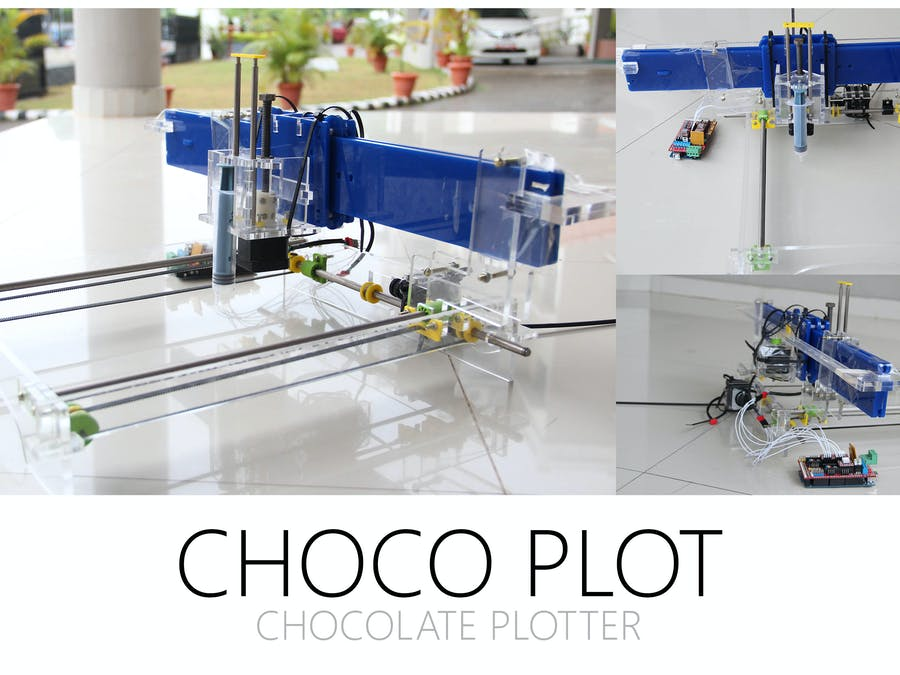 Choclate printer - 3D PRINTER DIY