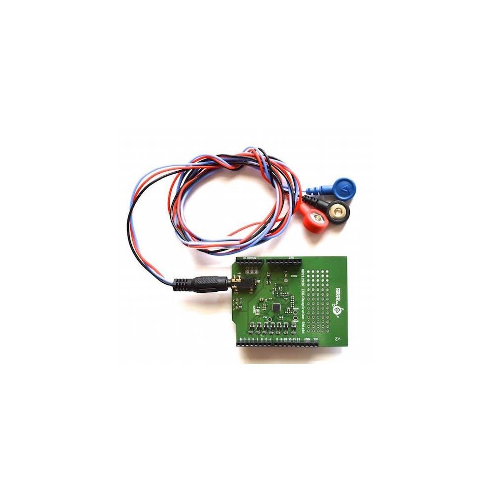 ADS1292R ECG/Respiration Shield for Arduino- v2