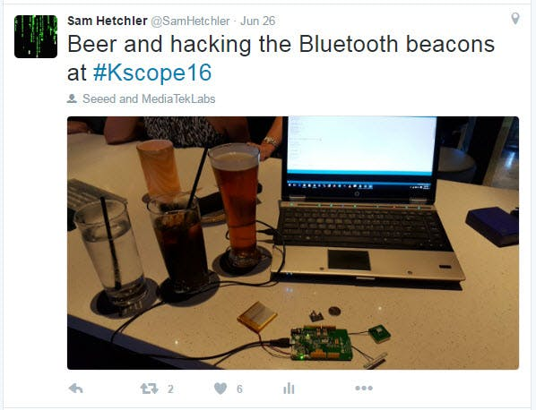 All sucessful hack-a-thons involve beer.