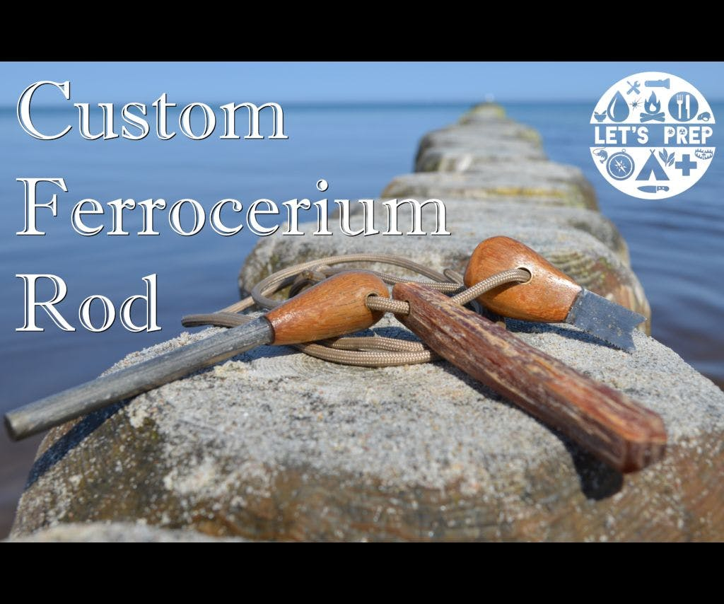 Custom Ferrocerium Rod - Afternoon Project