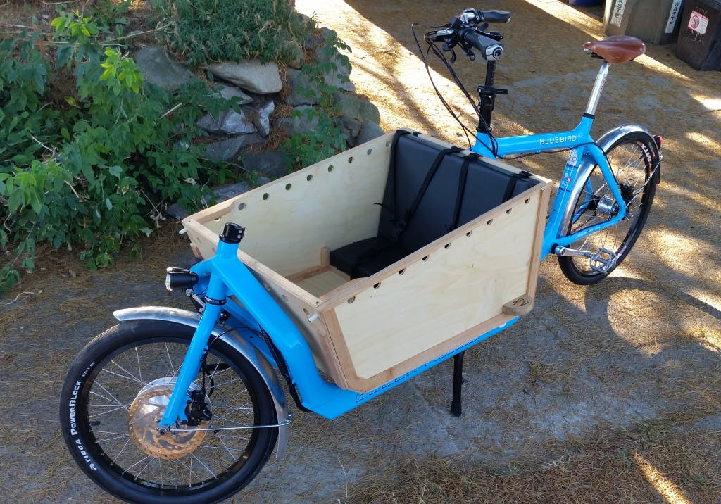 """""""The Merse"""" is a Harry vs Larry Bullit eletric bike assembled in Seattle by G&O Family Cyclery."""
