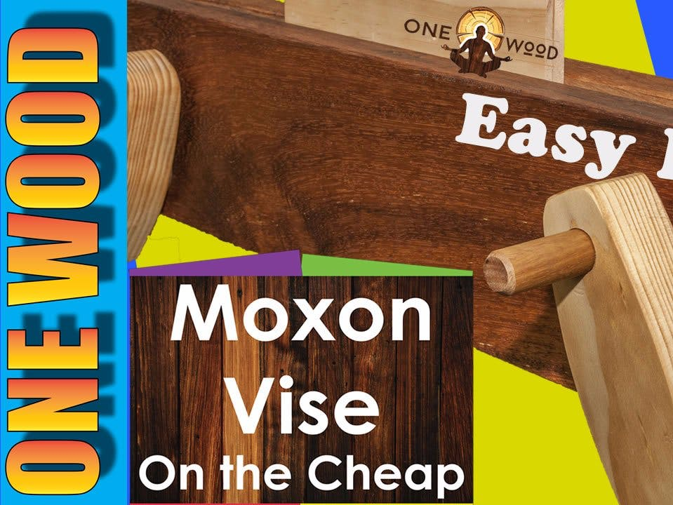 Woodworking with Moxon Vise