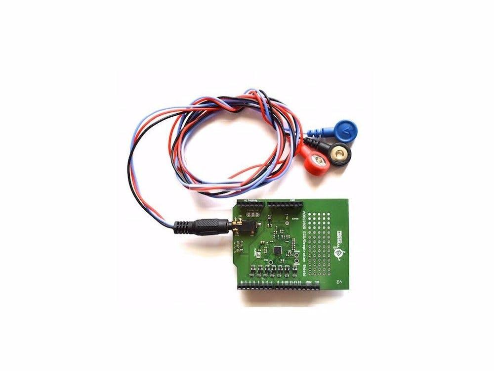 Monitor ECG respiration with Arduino