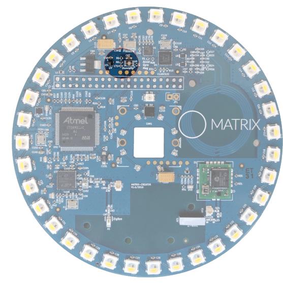 MATRIX Creator - UV Sensor - VEML6070