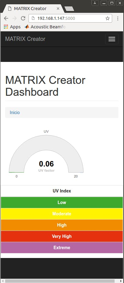 UV Web Application
