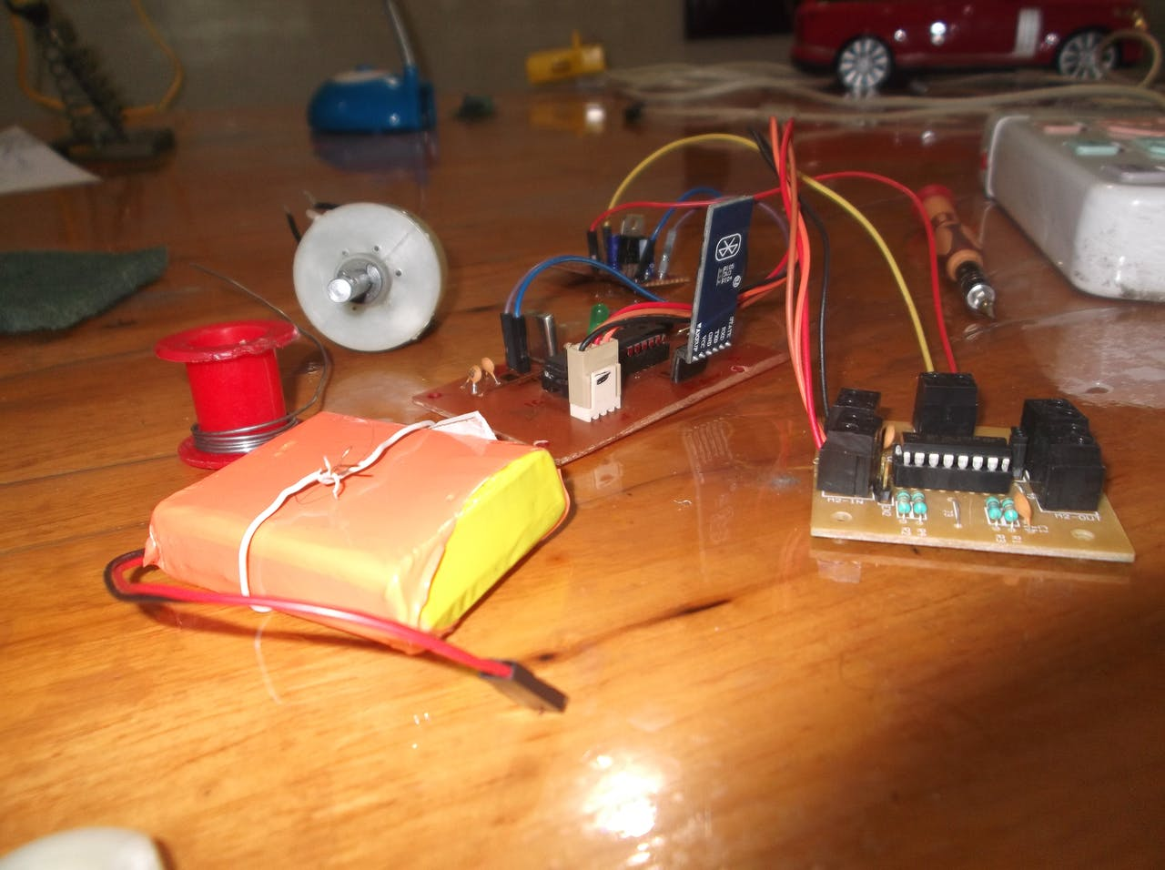 Android Arduino Rc Car Dual Led Chaser Project For Beginners
