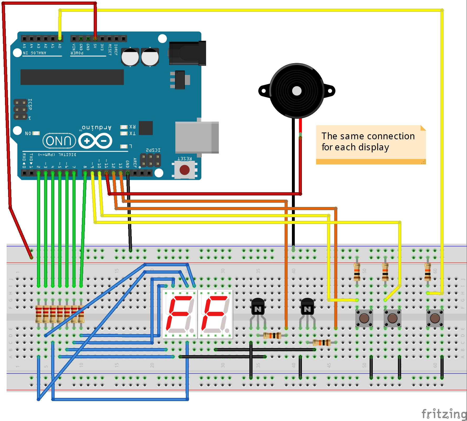 Easy Countdown With Buzzer Cuckoo Sound Generator Circuit Schematic Eeweb Community Layout
