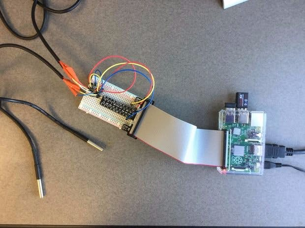Sending Temperature Sensor Data to Azure DB