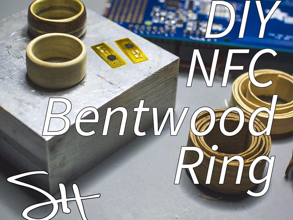 DIY NFC Bentwood Ring