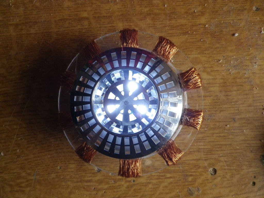 Build your own simple Iron Man Arc reactor