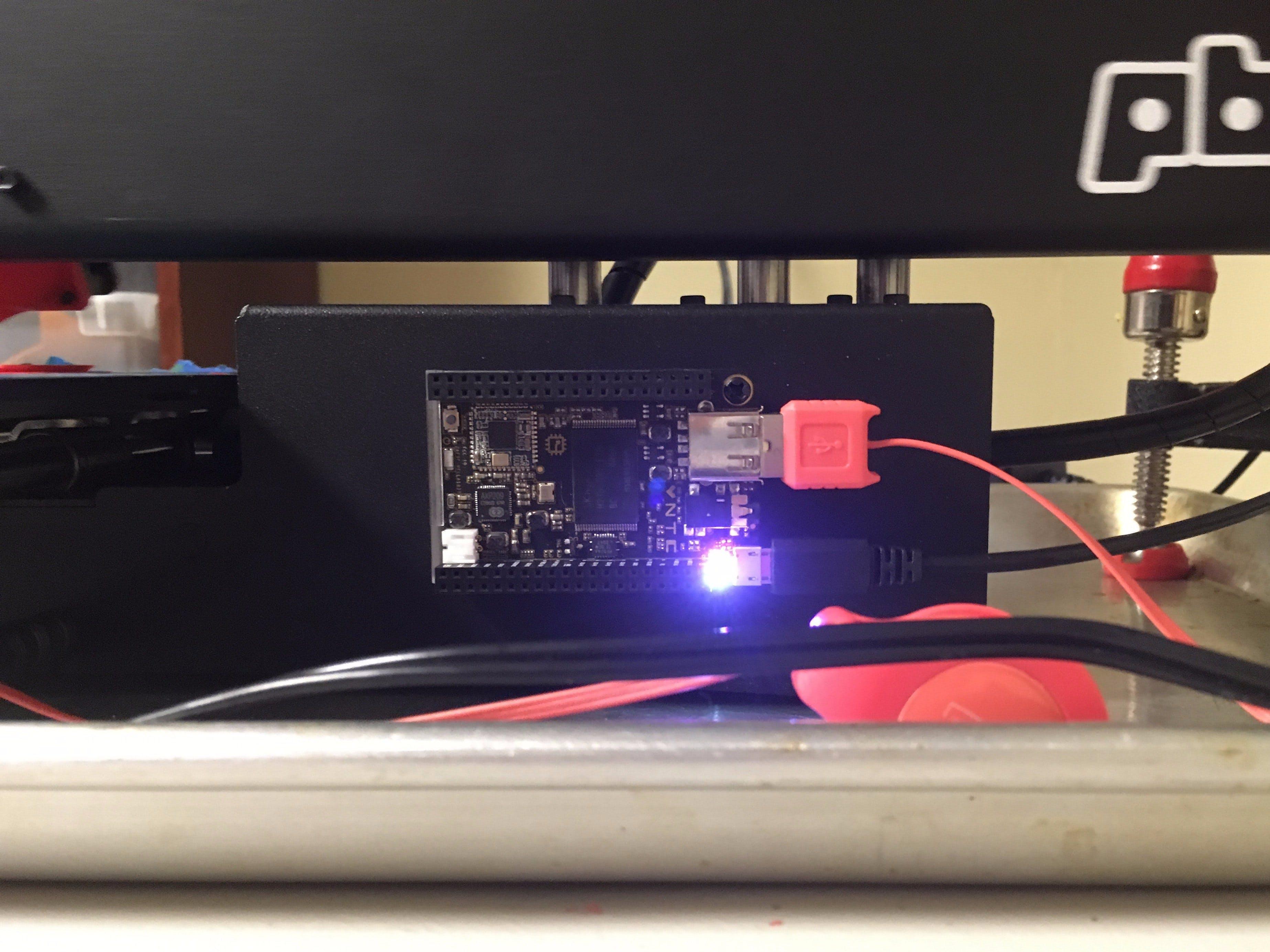 Build a C.H.I.P. 3D Printer Server for $9