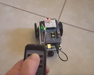 Remote Controlling Arduino Robot Shield