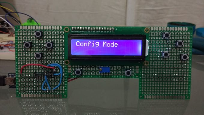 The controller, frontal view