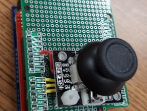Wireless Arduino Joystick Shield