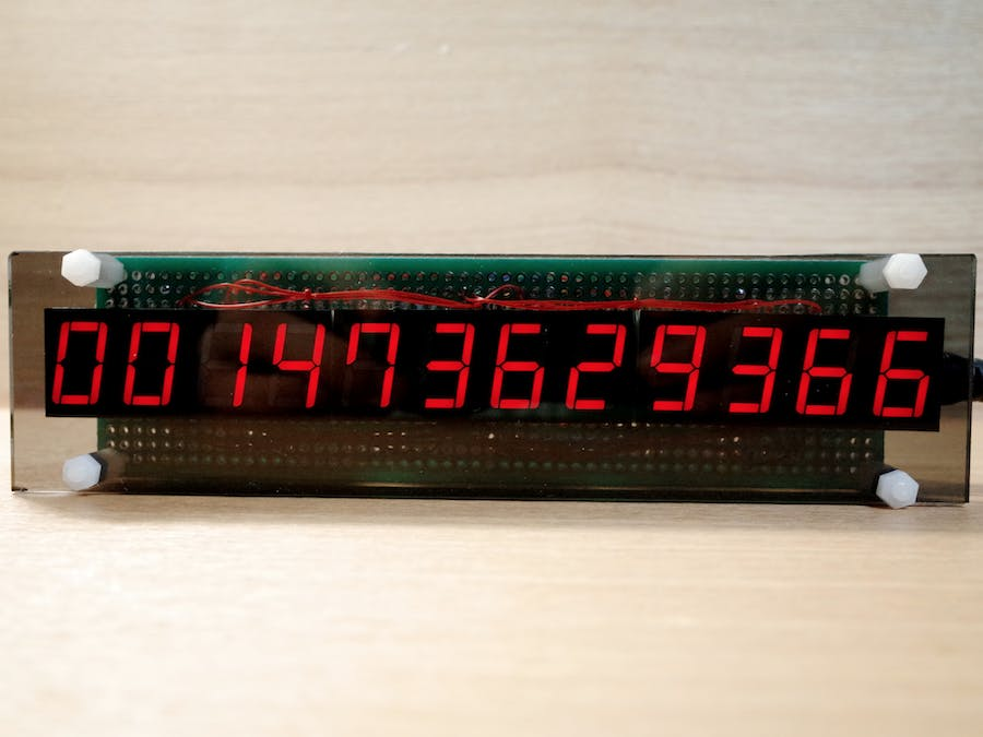 UNIX Time Clock - Arduino Project Hub