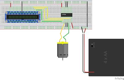 Windows IoT : Bi-Directional DC Motor Control