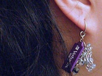 Data Diva: USB Earring or Charms