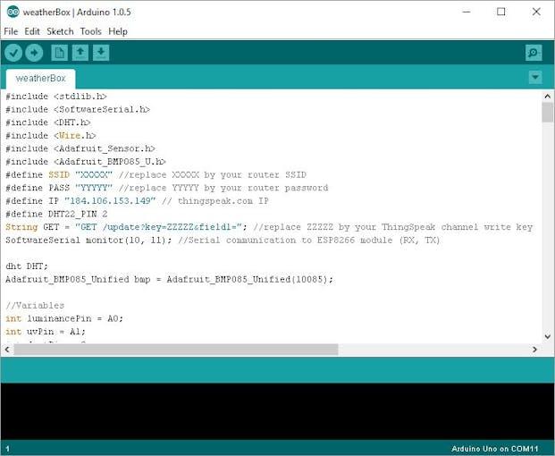 Arduino uno mini weather station hackster