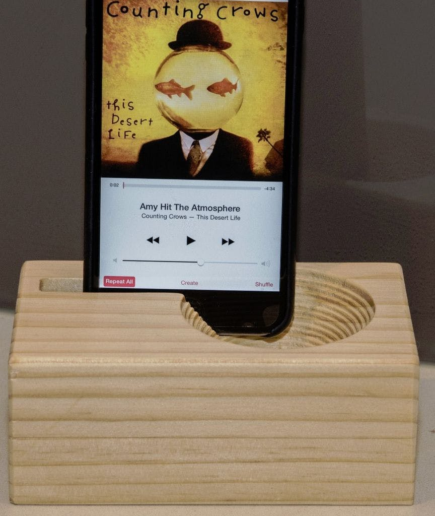 Make a Passive Amplifier for your iPhone with a X-Carve CNC