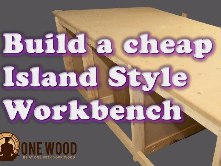 How to build a cheap workbench for woodworking