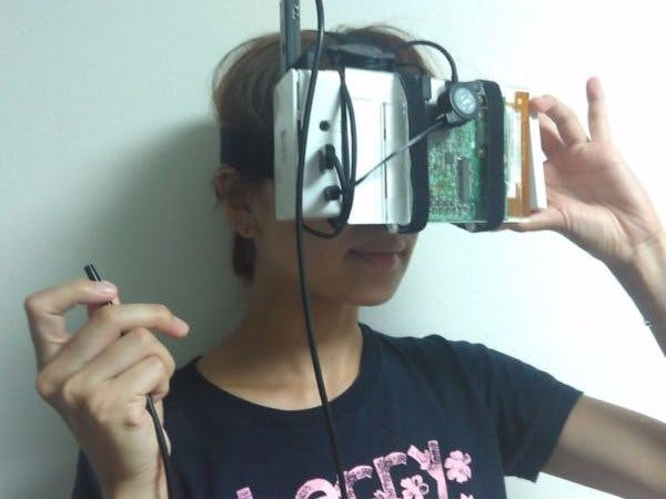 "Head Mounted Display ""Nirvana"""