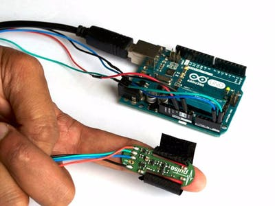 Using The Max30100 Wearable Pulse Sensor With Arduino