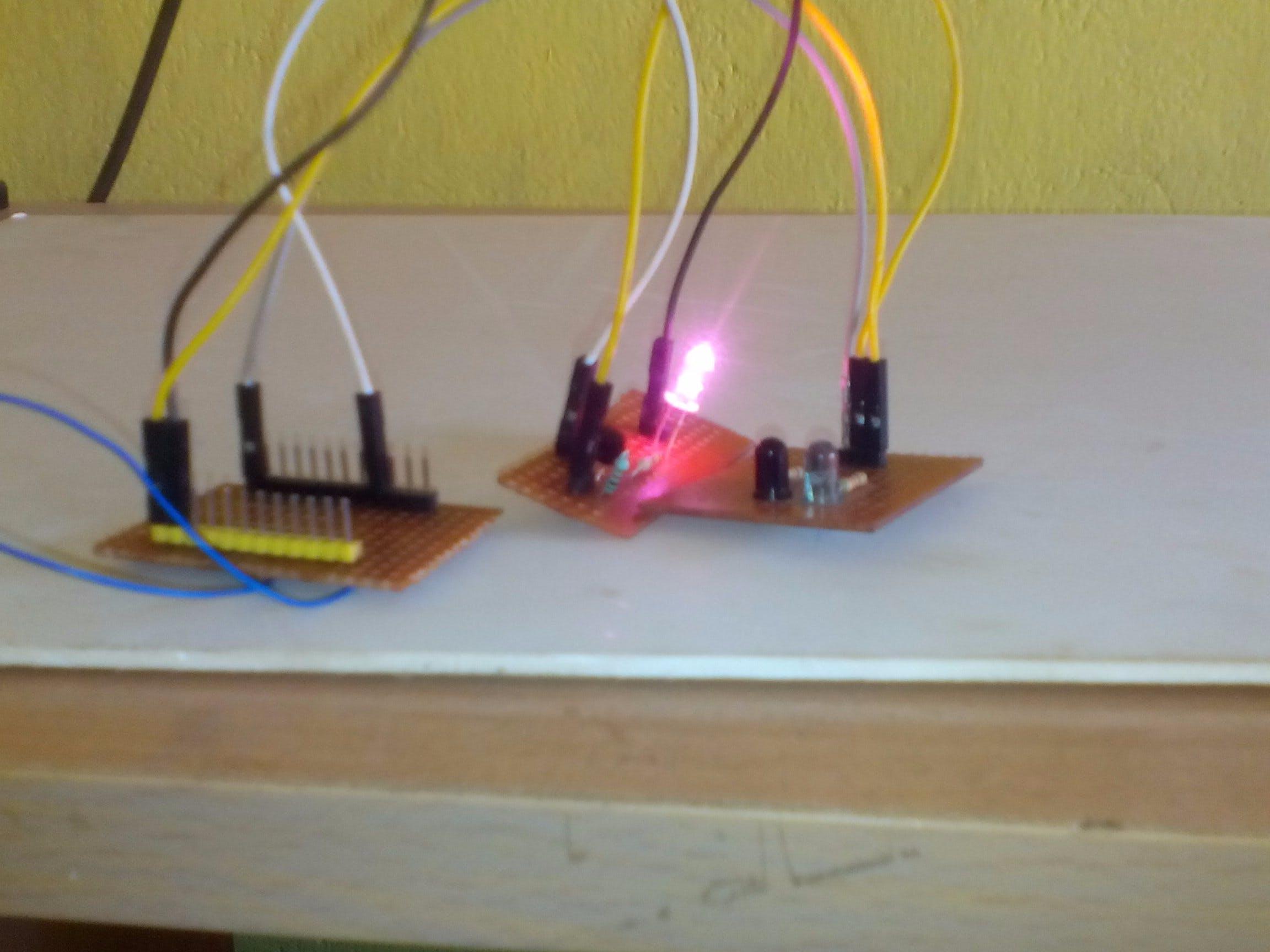 Proximity Sensor with Transistor