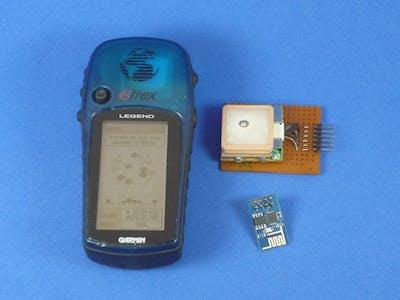 ESP8266 based wireless NTP server