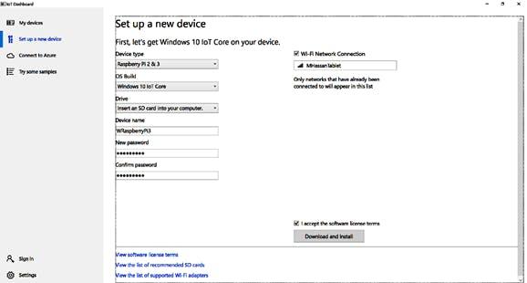 installing Windows 10 IOT Core on SD card