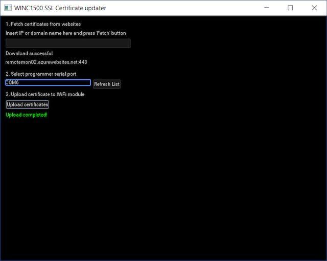 Update SSL Certificate