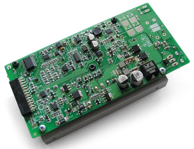 Power board (r5B9, DC power input)