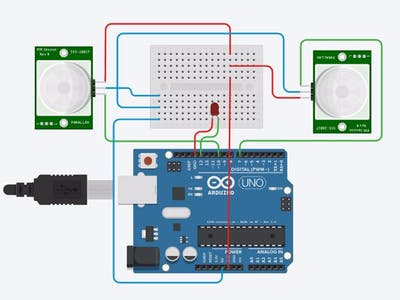 Car Counter using Arduino + Processing + PHP
