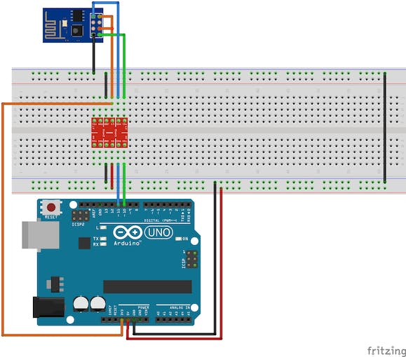 Simple arduino uno esp integration
