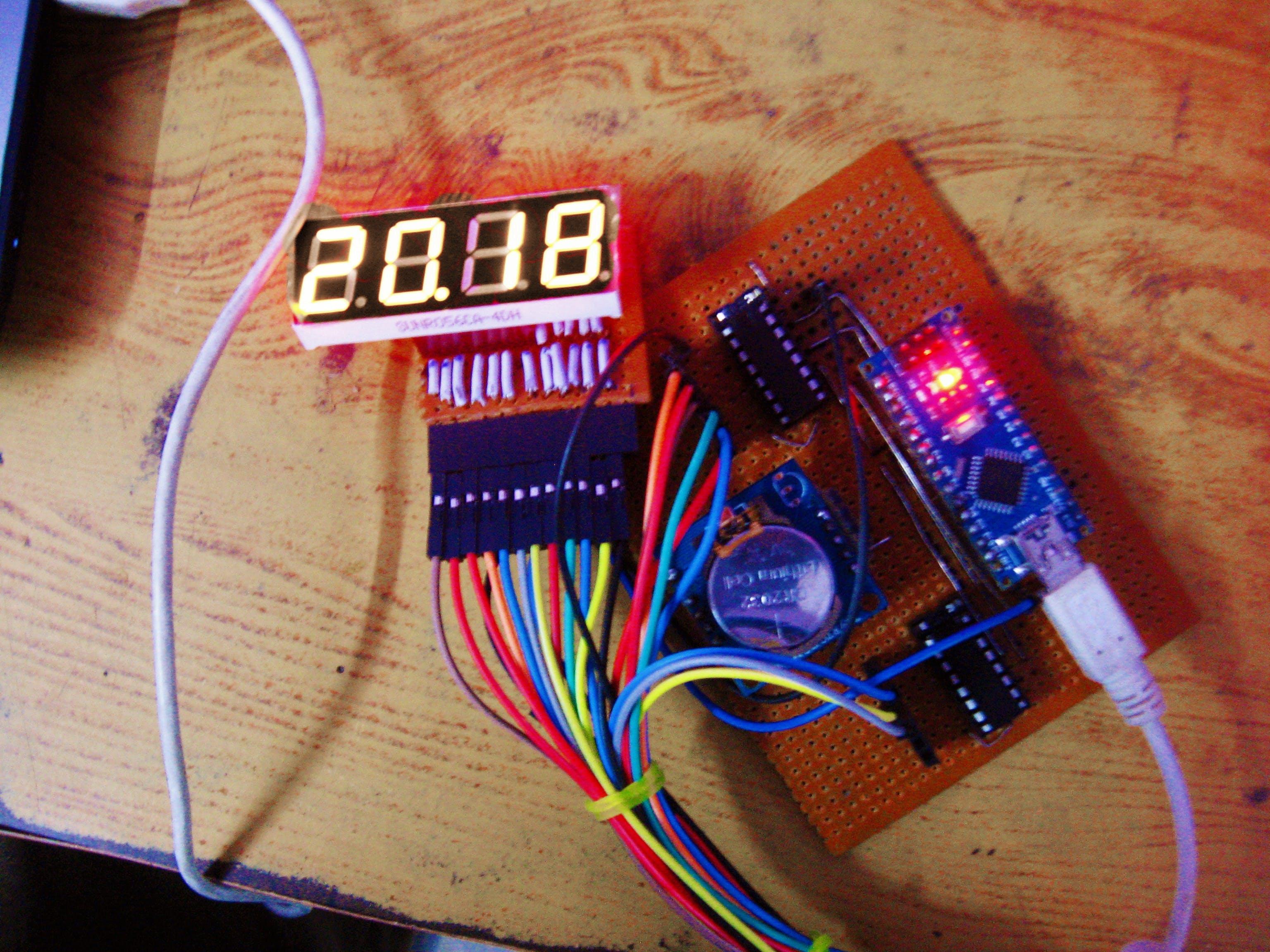 RTC Based Clock