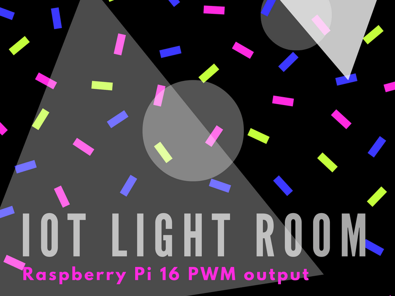 Cayenne on Raspberry IoT Light Room