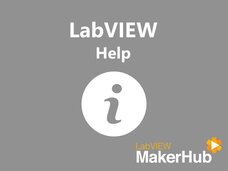 LabVIEW Basics - 08 | Help!