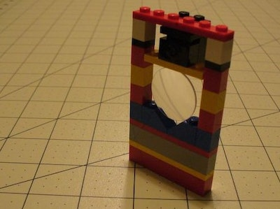Lego Optics Lab: Small Lens Holder