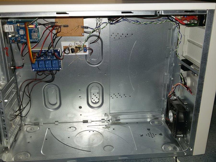 Home automation V1 (Arduino, Raspberry Pi, ESP8266